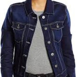 Denim Jean Jacket - Dark Blue